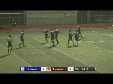 Ledyard at Stonington boys' soccer