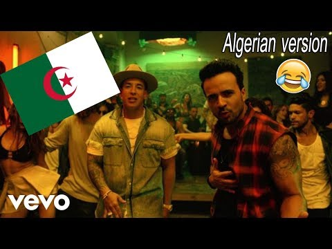 Despacito Algerian version  Despacito النسخة الجزائرية version dz  Despacito song