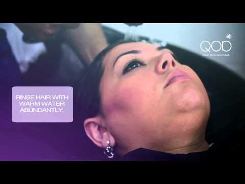 Brazilian Keratin QOD Max Silver - How to Apply - STEPS