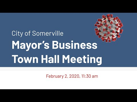2.2.2021 Mayor's Business Town Hall