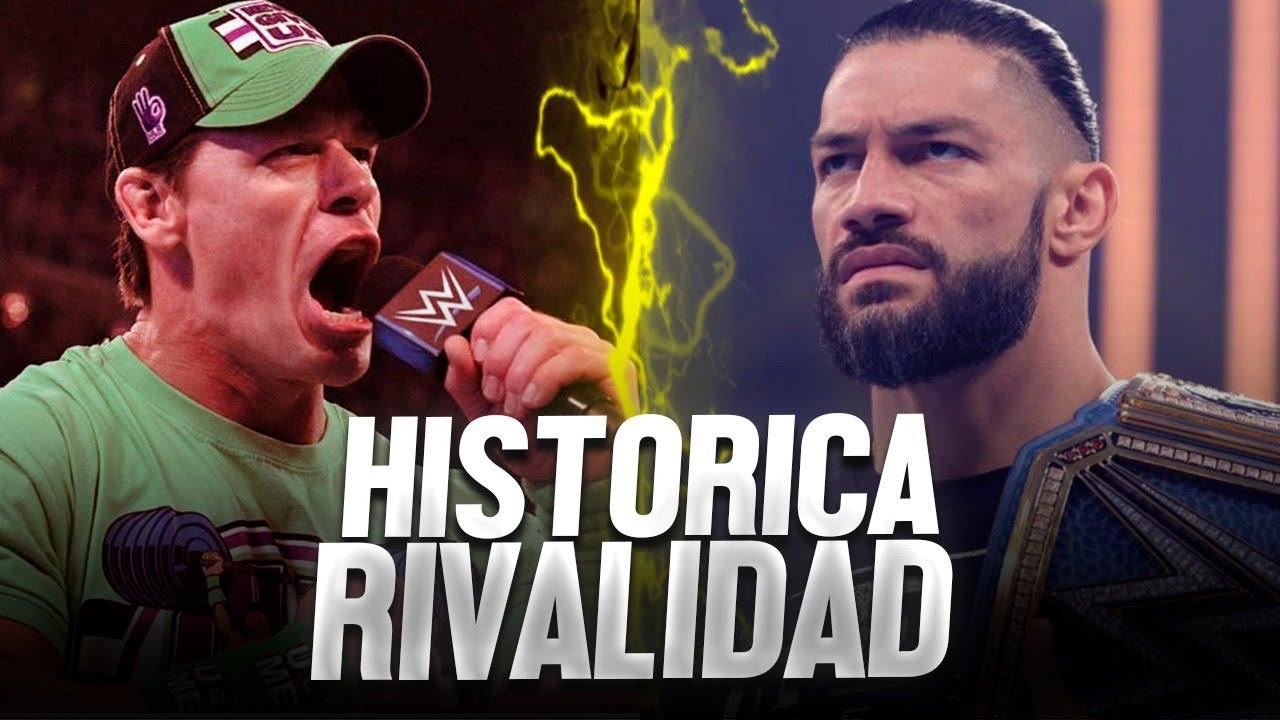 John Cena VS Roman Reings   Dentro de la Rivalidad