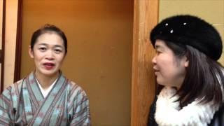 きよみんの女将インタビュー 奈良公園内 青葉茶屋女将 岡村真希さん 2月...