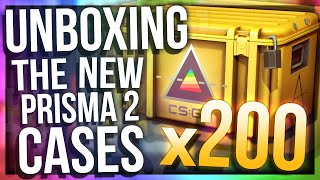 UNBOXING 200 PRISMA 2 CASES (HUGE NEW CASE UNBOXING)