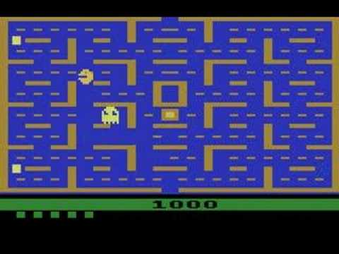 Pac-Man For The Atari 2600 is listed (or ranked) 2 on the list Arcade Ports That Just Didn't Work Out