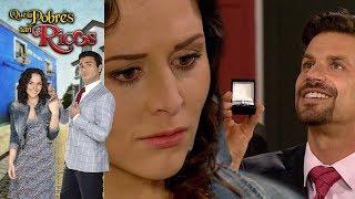 Qué pobres tan ricos: Alejo le propone matrimonio a Lupita | Escena - C 93