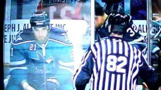 Claude Lemieux gets a beat down