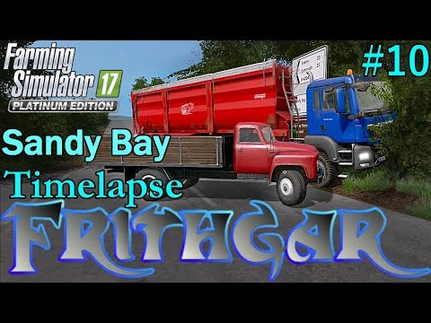 FS17 Timelapse, Sandy Bay #10: Getting Crops In The Ground!