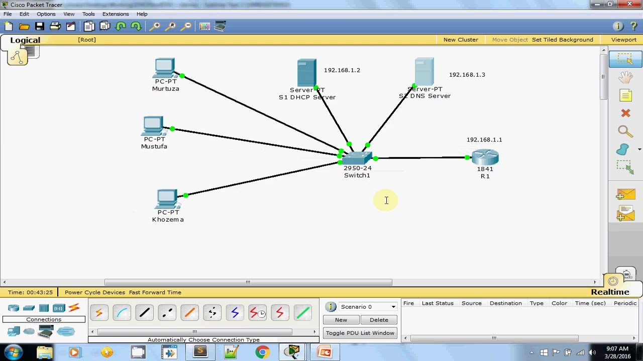 Configuring DNS and DHCP - Words