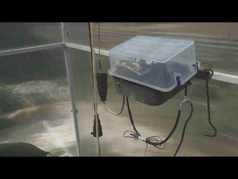 Очень просто -  автоматика на вентилятор в теплицу своими руками !