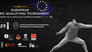 European Olympic Qualifying Tournement - Madrid 2021 - Podium - DAY 2