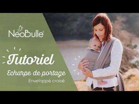 Installer Bébé Dans Une écharpe De Portage - Tuto Enveloppé Croisé JUNGLE - Néobulle