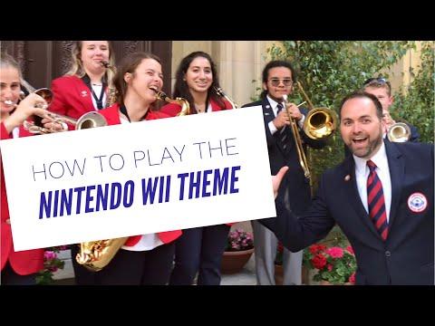 NINTENDO Wii THEME on Alto Sax:Trumpet:Tenor Sax:Trombone!