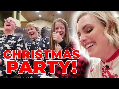 GRIFFITHS CHRISTMAS PARTY 2018 Ellie And Jared Christmas Special