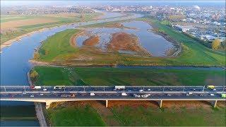 Waterstand IJssel bij Deventer oktober 2018