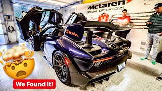 RARE ATLANTIC BLUE MCLAREN SENNA HIDDEN IN CANADA! *ALEX CHOI / STEVESPOV*