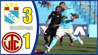 🤩RESUMEN GOLES DEBATE⚽️Sporting Cristal vs UTC de Cajamarca⚽️ Liga 1 Apertura Peru Cup 2019
