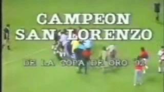 San Lorenzo 3 River 2 Copa de Verano  1992 Parte 2.