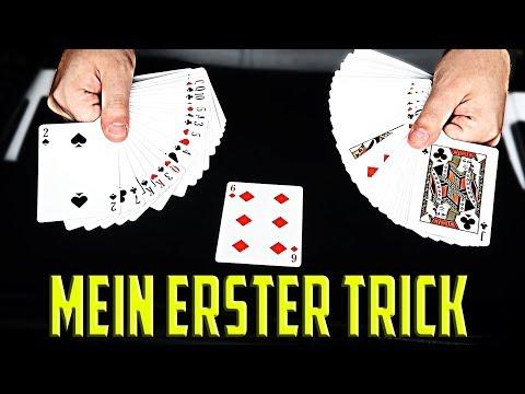 Mein ERSTER KARTENTRICK mit Erklärung - Triumph Zaubertricks mit Auflösung