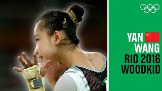 """Wang Yan 🇨🇳performs to """"Run Boy Run"""" at Rio 2016"""