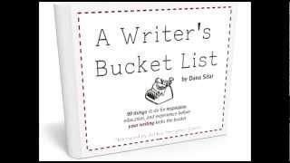 """""""A Writer's Bucket List"""" Book Trailer"""