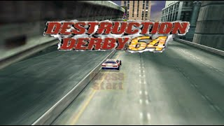 Nintendo 64 Longplay [035] Destruction Derby 64