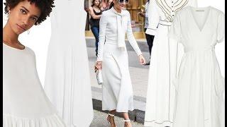 видео С чем носить белое платье