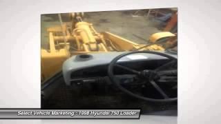 1998 Hyundai 750 Loader JA0954ASL17