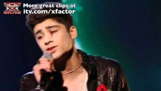 One Direction sing Total Eclipse of the Heart - The X Factor Live show 4 - itv.com/xfactor