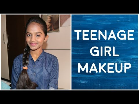 TEENAGE GIRL MAKEUP INDIA