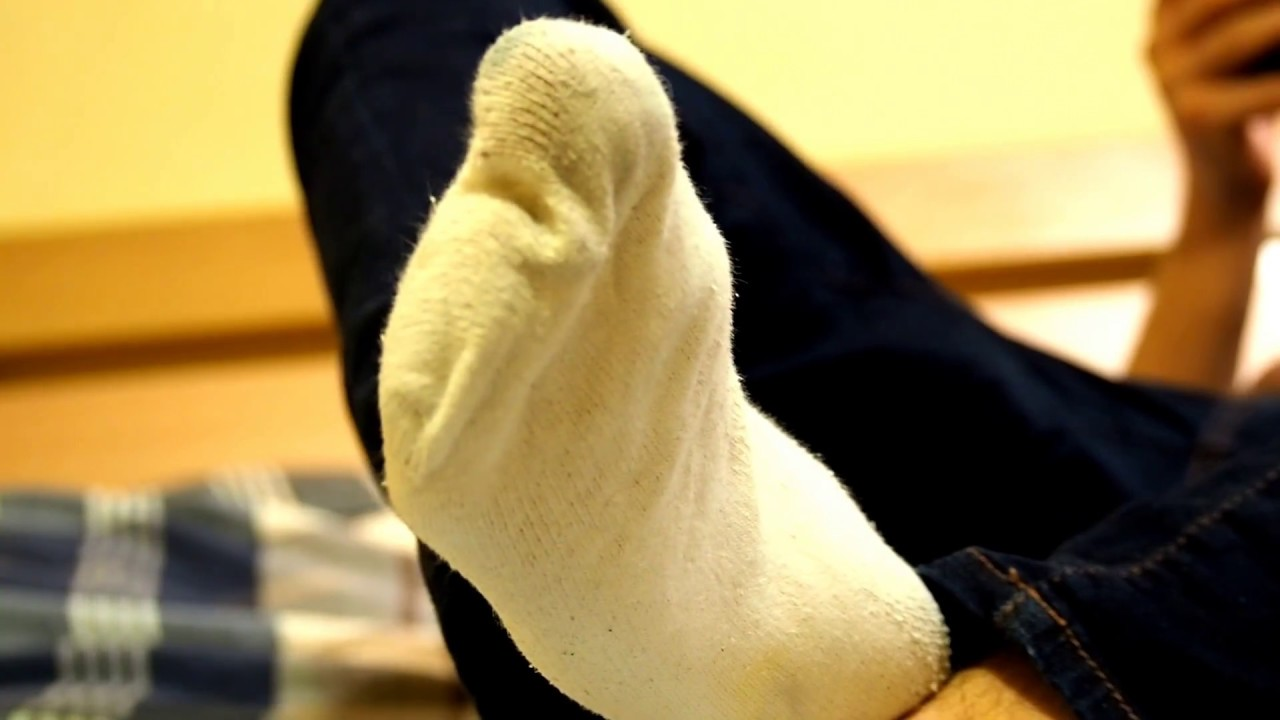 Dirty stinky socks