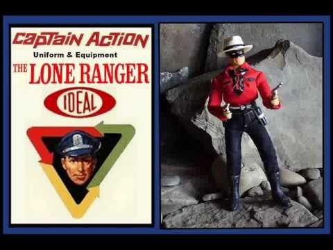 Lone Ranger & Tonto CA Figures