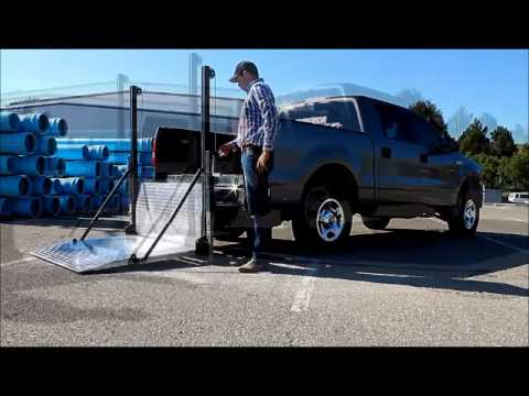 removable liftgate for pickup trucks youtube. Black Bedroom Furniture Sets. Home Design Ideas