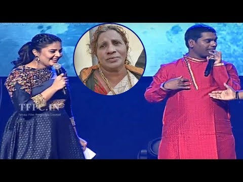 Bithiri Sathi Imitates Lokulu Kakulu Aunty @ Diksoochi Movie Audio Launch | TFPC