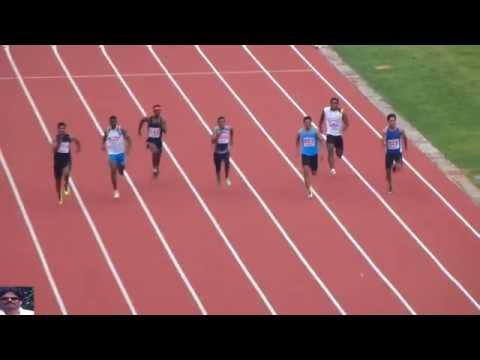 Men's 200M Final.National Inter State Senior Athletics Championships-2013. Chennai