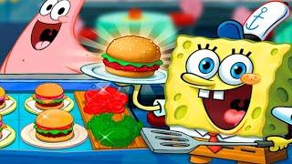 SpongeBob: Krusty Cook-Off Gameplay Walkthrough Part 2 - Spongebob Cooking PanCake