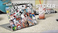 How to Stickerbomb a MacBook Pro in 2018 Using the BEST Stickers and Decals
