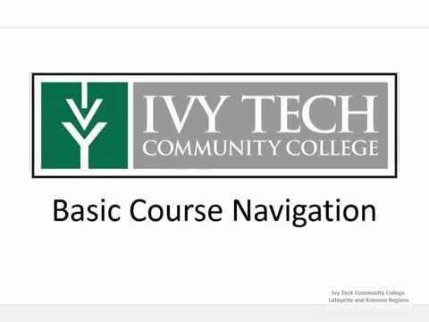 Basic Course Navigation