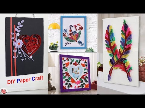 Only With Paper... 13 DIY Paper Quilling Craft Ideas !!! Handmade Things