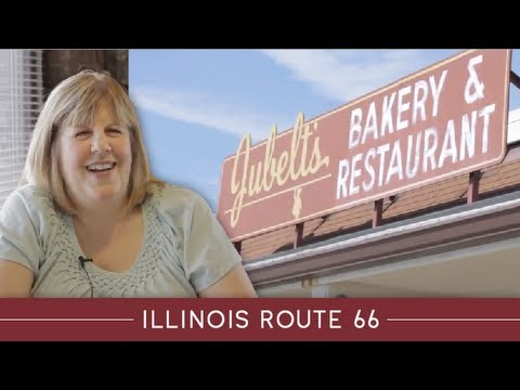 Illinois Route AttractionsJubelts Restaurant And Bakery - Route 66 youtube