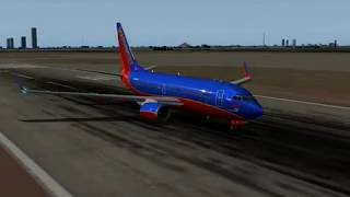 737 Flight on X-plane 8