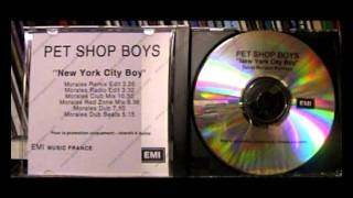 Pet Shop Boys,New York City Boy david morales red zone mix