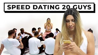 20 vs 1: Speed Dating 20 Guys | Jubilee x Solfa Parody