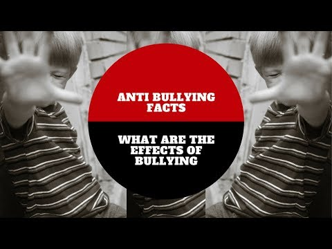what is bullying and what are its effects Bullying can have serious short term and long term effects for both the bully and   and communities work together to understand bullying and its consequences.