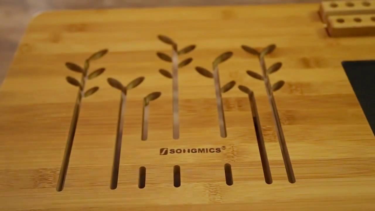 Mics Bamboo Laptop Desk Ulld006