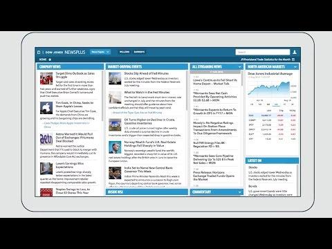 Dow Jones NewsPlus - A News Streaming Platform