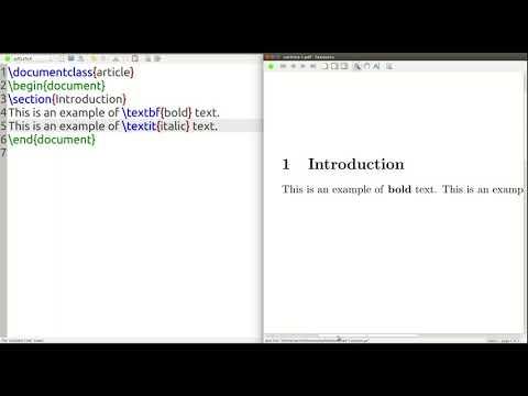 Modifying Text in LaTeX