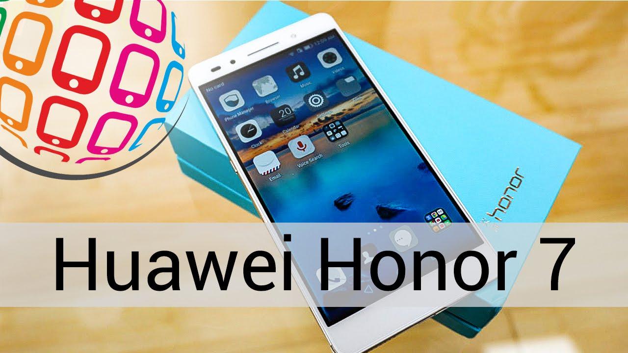Huawei Honor 7: предварительный обзор (preview) - YouTube