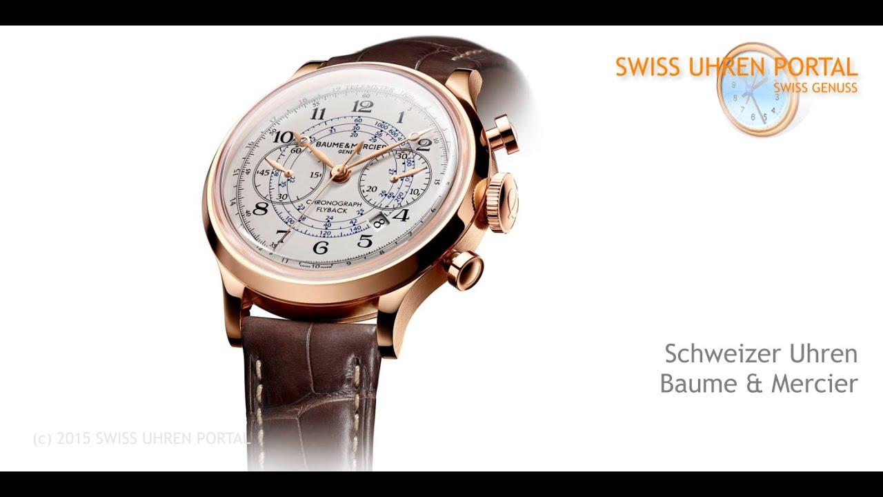 Swiss Uhren Portal - Baume & Mercier
