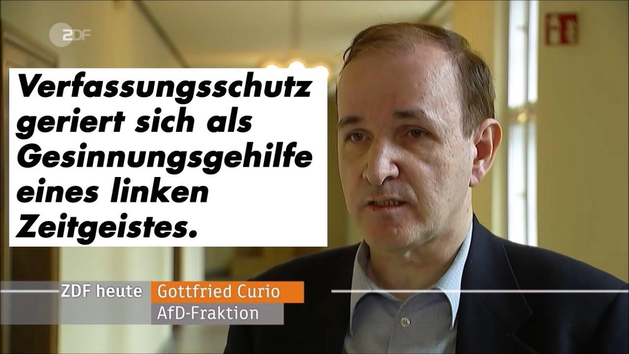 ZDF-heute: Dr. Curio zur Vorstellung des Verfassungschutzberichts