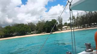 Catamaran excursion in Barbados